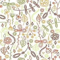 Obraz na płótnie canvas trzyczęściowy tryptyk Jesienne liście.