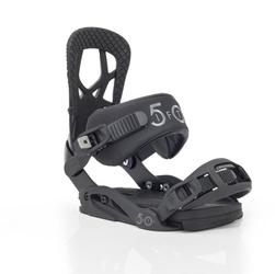 Wiązania snowboardowe drake fifty black 2020