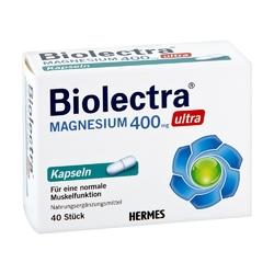 Biolectra magnesium 400 mg ultra kapsułki