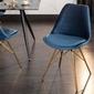Interior space :: krzesło retro scandinavia ciemnoniebieski
