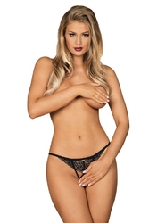 Obsessive liferia crotchless thong