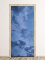 Fototapeta na drzwi pochmurne niebo fp 6172