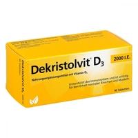Dekristolvit d3 2.000 i.e. tabletki