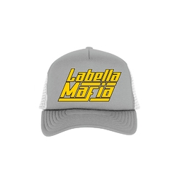 Czapka damska labellamafia grey  yellow