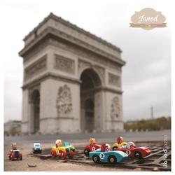 Racer czerwona wyścigówka