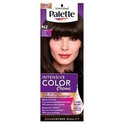 Palette intensive color creme, farba do włosów, n2 ciemny brąz