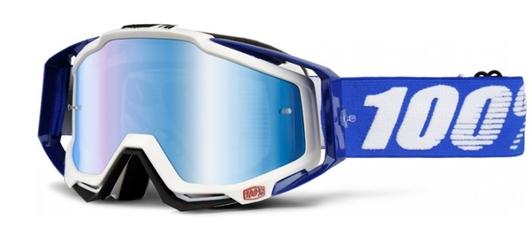 Gogle 100 racecraft cobalt blue +szybka +zrywki