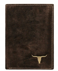 Portfel męski skórzany buffalo wild rm-03-baw brązowy - jasny brąz
