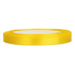 Tasiemka satynowa 6mm32m - żółty - żół