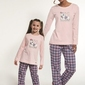 Cornette 627229 scottie piżama damska