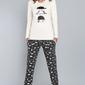 Italian fashion dima dł.r. dł.sp. piżama damska