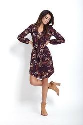 Kwiecista sukienka boho mini