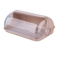 Chlebak  pojemnik na pieczywo plastikowy lamela beżowy