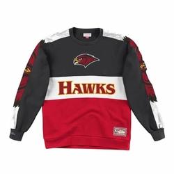 Bluza Mitchell  Ness Leading Scorer Fleece Crew Atlanta Hawks - FCNKDF18025-AHABLCK - Atlanta Hawks
