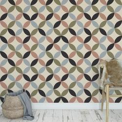 Tapeta na ścianę - pastel stars , rodzaj - tapeta flizelinowa laminowana