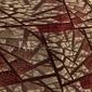 Obraz na płótnie canvas czteroczęściowy tetraptyk witraż