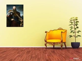 stefan czarniecki - portret -   leon kapliński ; obraz - reprodukcja