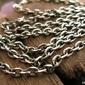 Antica - srebrny łańcuszek 55cm