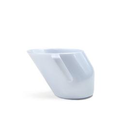 Doidy cup szary perłowy - kubeczek ułatwiający picie