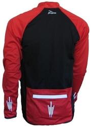 Bluza rogelli padua czerwono-czarna