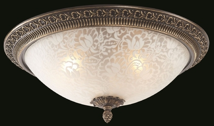 Lampa sufitowa elegancka klasyka pascal maytoni classic c908-cl-03-r