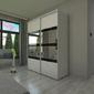 Szafa przesuwna o100 x 245 - barwione szkło