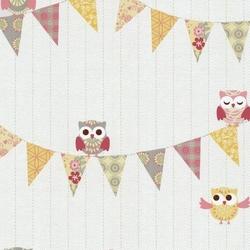 Tapeta 5585-40 happy kids sowy sówki