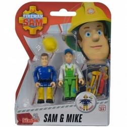 Simba strażak sam zestaw dwóch figurek sam  mike + akcesoria