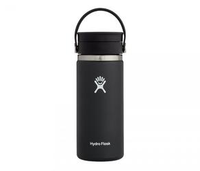 Kubek termiczny hydro flask 473 ml coffee wide mouth flex sip czarny