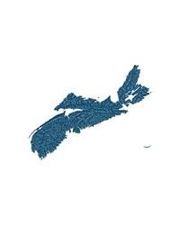 Mapa hydrologiczna nowej szkocji