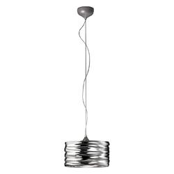 Lampa wisząca z falowanym kloszem aqua 35