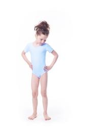Shepa body gimnastyczne lycra b8 krótki rękaw