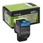 Toner oryginalny lexmark 802sc 80c2sc0 błękitny - darmowa dostawa w 24h
