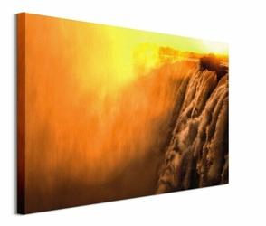 Steamy Falls - obraz na płótnie