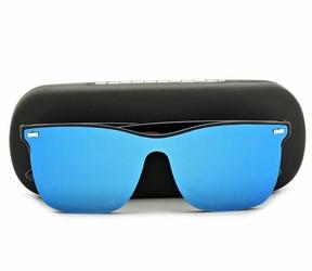 Okulary pełne lustro nerdy przeciwsłoneczne uv400 str-1597a