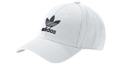 Adidas trefoil baseball cap fj2544 osfw biały