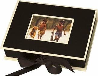 Pudełko na zdjęcia Die Kante czarne