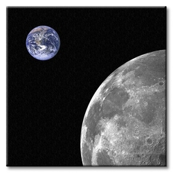 Planeta ziemia - obraz na płótnie