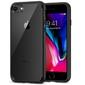Etui spigen ultra hybrid 2 apple iphone 78se 2020 black + szkło alogy - czarny