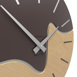Zegar ścienny oliver calleadesign caffelatte 10-101-14