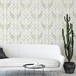 Tapeta na ścianę - modern artdeco , rodzaj - tapeta flizelinowa