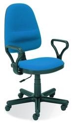 Fotel obrotowy bravo c6 niebieski