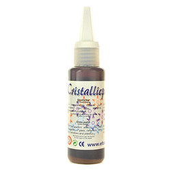 Cristallicpaint 50 ml - brązowy jasny - BRĄZJAS