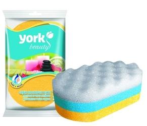 York, tęcza, gąbka masażowa, 1 sztuka
