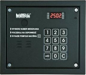 Laskomex cp-2503r czarna panel audio z czytnikiem kluczy rfid - szybka dostawa lub możliwość odbioru w 39 miastach