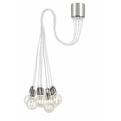 Kaspa - lampa wisząca - more - biała - biały