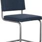 Zuiver :: krzesło ridge brushed vintage niebieskie