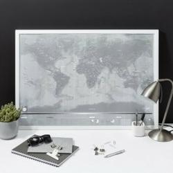 Mapa zdrapka platinum