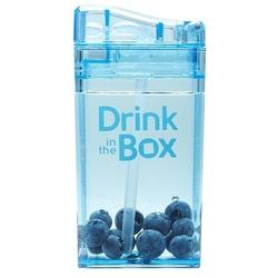 Bidon ze słomką 235 ml, niebieski, in the box