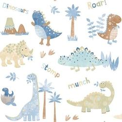 Tapeta w dinozaury tiny tots g45127